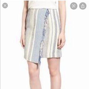 NWT Halogen | Tweed Mini Wrap Skirt 14